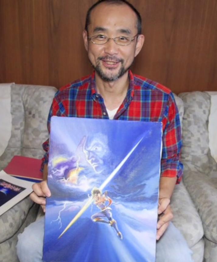 Koichi Yotsui - Strider Oil Painting